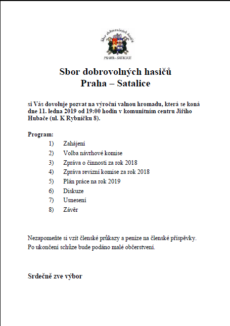 Sdh Praha Satalice Sbor Dobrovolnych Hasicu Praha Satalice